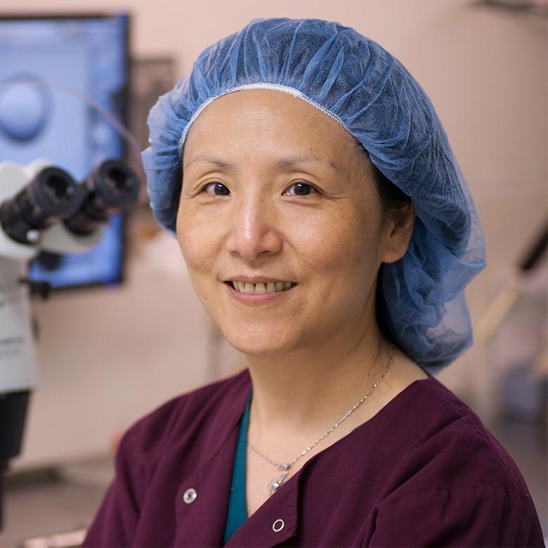 Ellen She, MD, PhD at New England Fertility